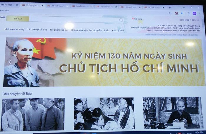 Trưng bày trực tuyến nhiều sách, tư liệu quý về Chủ tịch Hồ Chí Minh trên Book365.vn