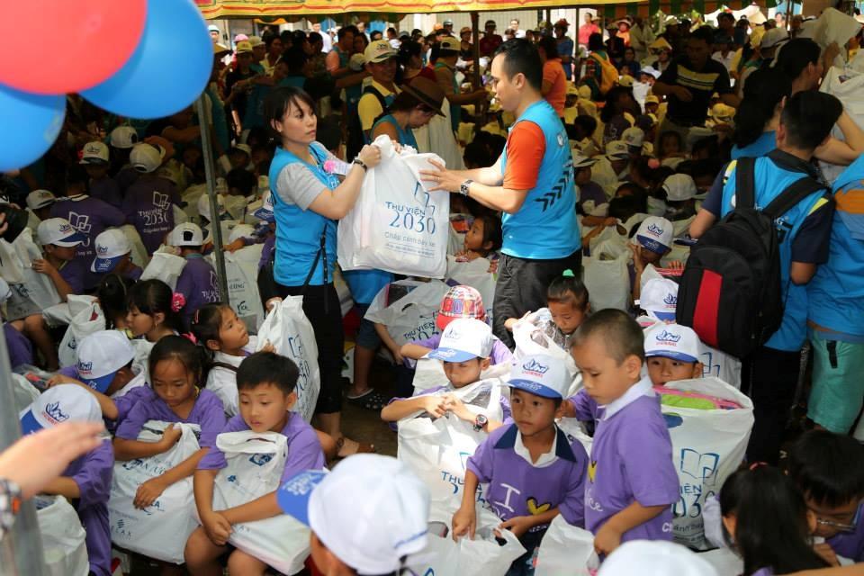 Hỗ trợ tổ chức chương trình trao tặng Thư viện 2030 lần thứ VII tại tỉnh