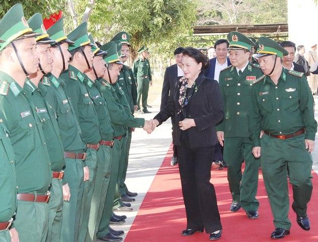 Bộ đội Biên phòng tỉnh Đắk Lắk: Quyết tâm bảo vệ vững chắc chủ quyền lãnh thổ, an ninh biên giới quốc gia