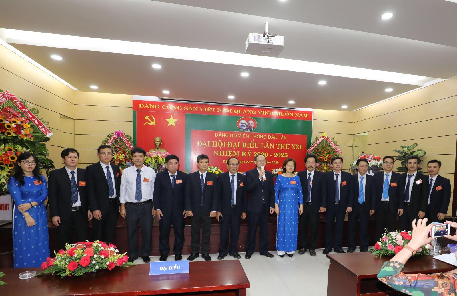 Đại hội Đảng bộ Viễn thông Đắk Lắk lần thứ XXI, nhiệm kỳ 2020-2025