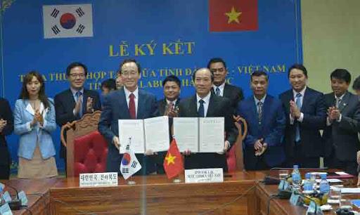 Báo cáo tình hình hợp tác với tỉnh Jeollabuk (Hàn Quốc)