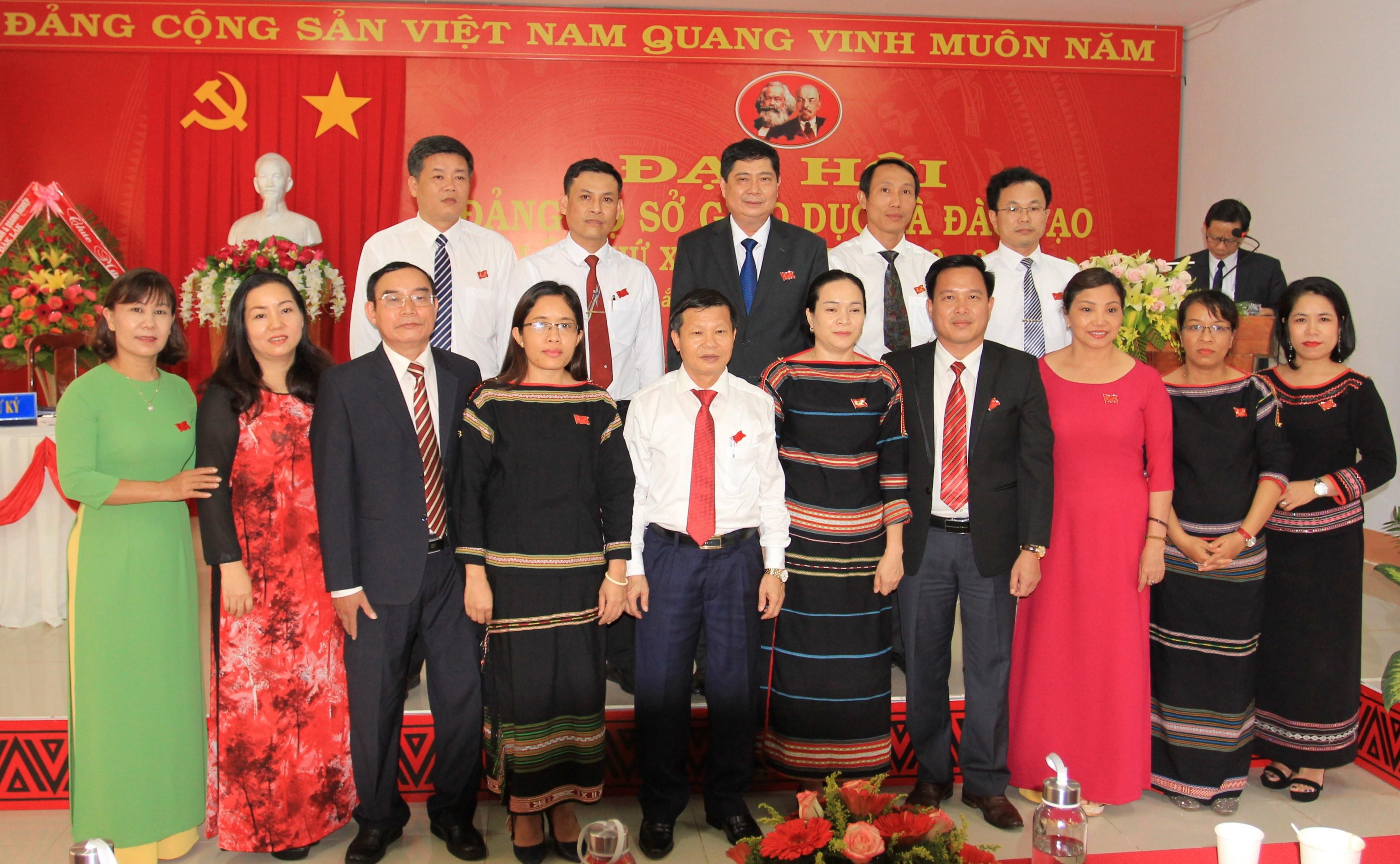 Đại hội Đảng bộ Sở Giáo dục và Đào tạo lần thứ XV, nhiệm kỳ 2020 – 2025
