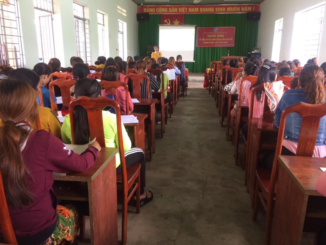 Truyền thông, tư vấn quyền bình đẳng của phụ nữ, quyền trẻ em trong pháp luật Việt Nam năm 2020