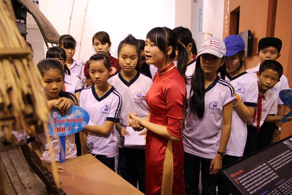 Bảo tàng Đắk Lắk tổ chức nhiều hoạt động thiết thực dành cho thiếu nhi
