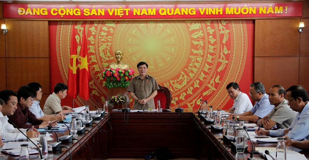 Kiểm tra công tác chuẩn bị Đại hội Đảng bộ huyện Krông Ana