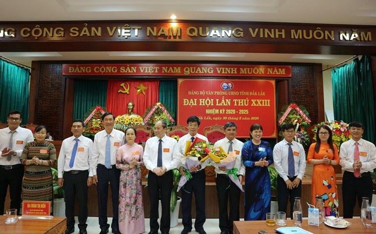 Đại hội Đảng bộ Văn phòng UBND tỉnh lần thứ XXIII, nhiệm kỳ 2020 - 2025