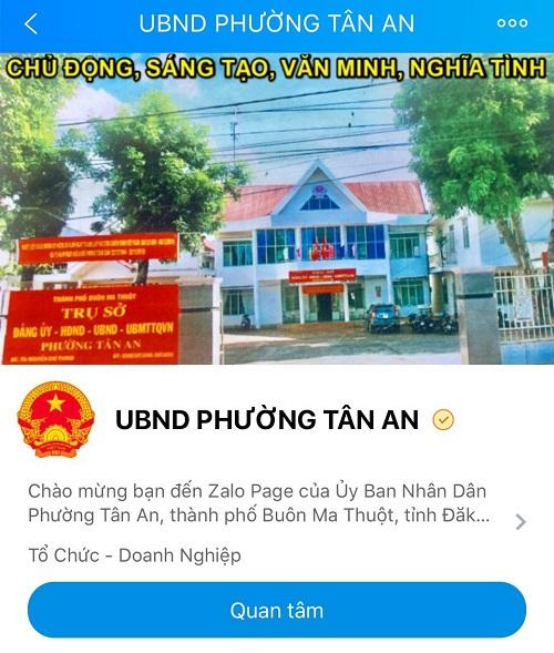 Công an tỉnh Đắk Lắk lập hơn 100 tài khoản Zalo tiếp nhận tố giác tội phạm