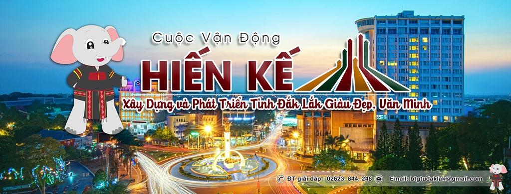 """Ra mắt Fanpage truyền thông về Cuộc vận động """"Hiến kế xây dựng và phát triển tỉnh Đắk Lắk giàu đẹp, văn minh"""""""