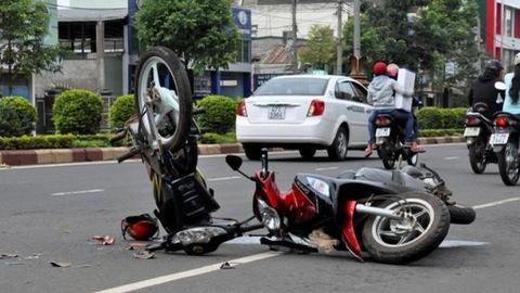 53,8% vụ tai nạn giao thông do người điều khiển mô tô gây ra