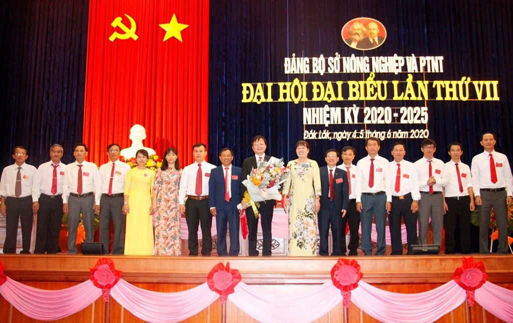 Đại hội đại biểu Đảng bộ Sở Nông nghiệp và Phát triển nông thôn lần thứ VII, nhiệm kỳ 2020-2025