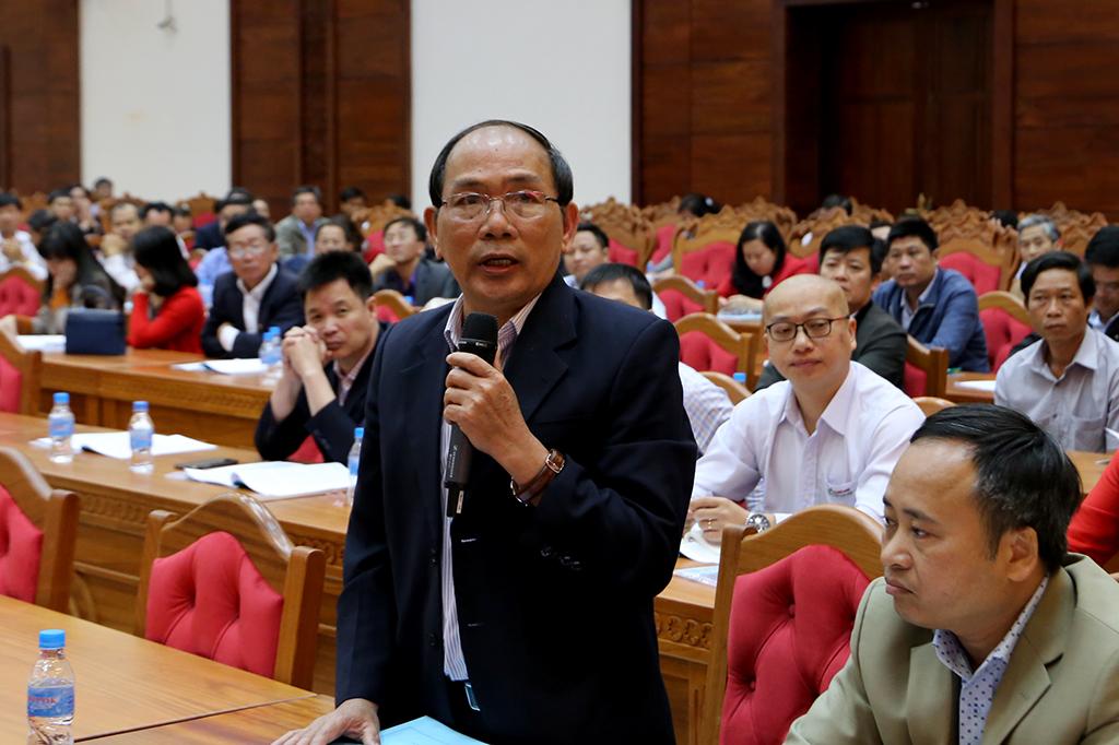 Tổng hợp ý kiến tham mưu cho Hội nghị đối thoại với doanh nghiệp lần 1 năm 2020