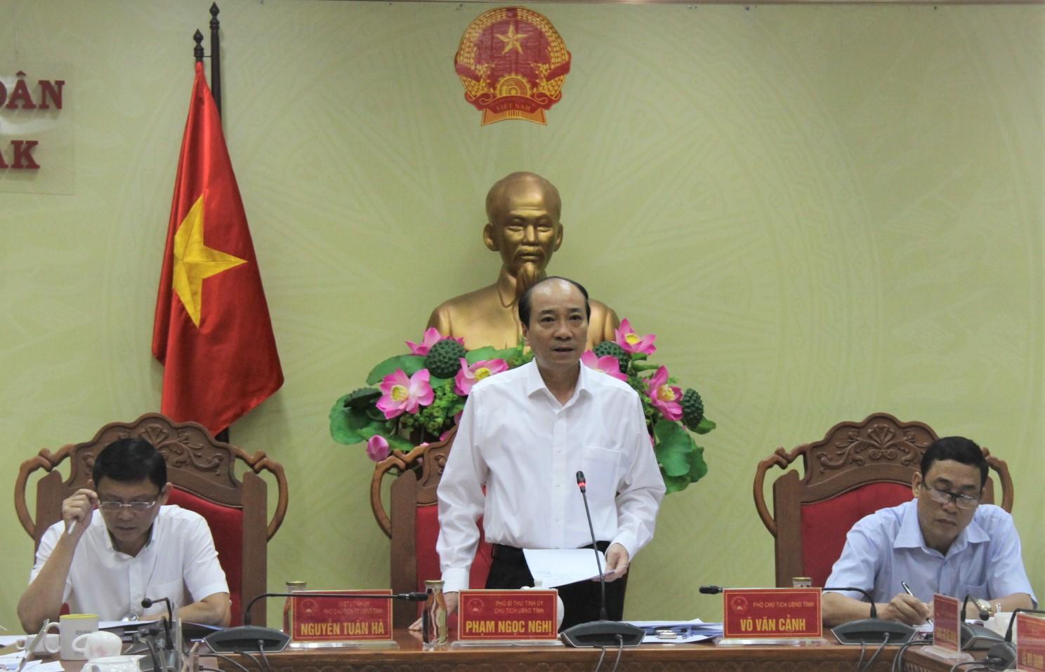 UBND tỉnh họp thông qua các nội dung trình Kỳ họp thứ 10 HĐND tỉnh khóa IX