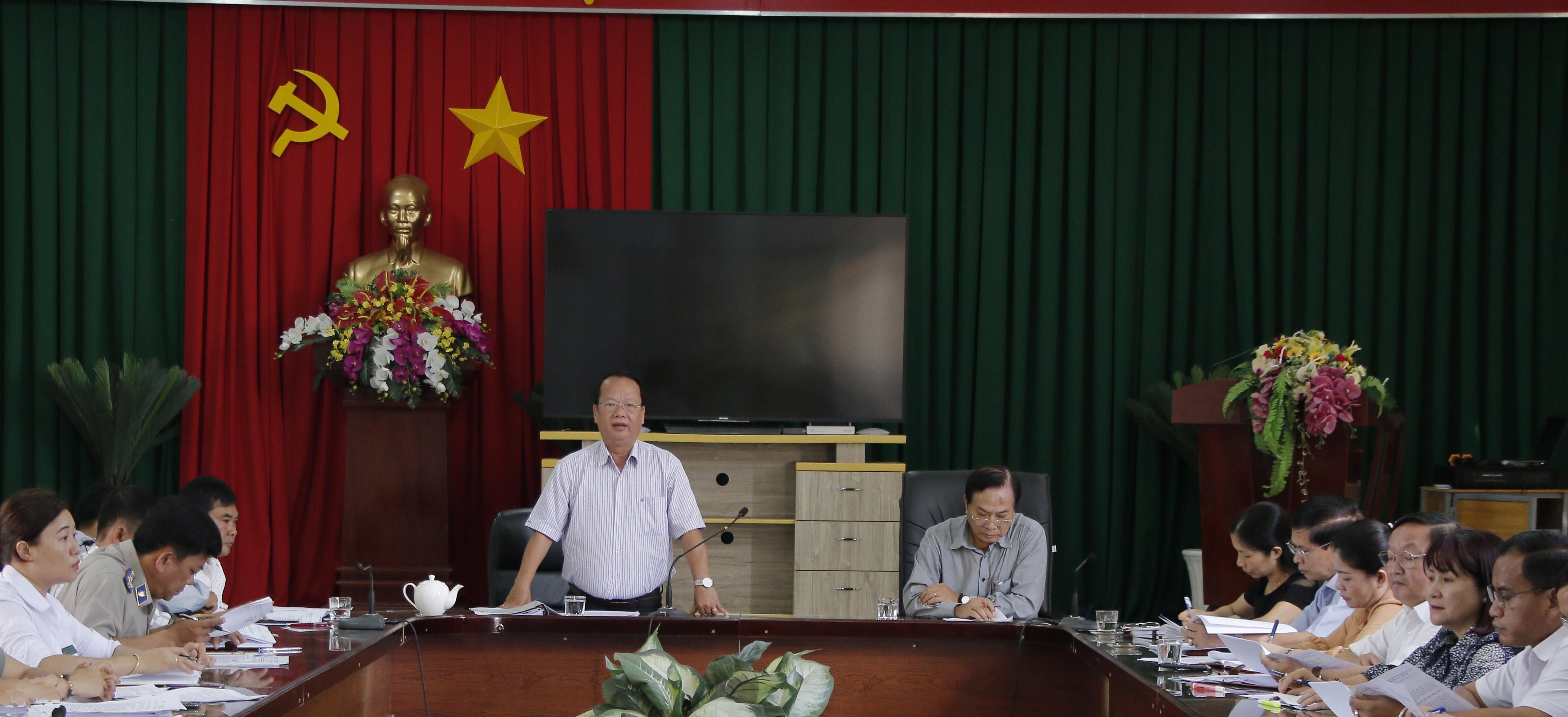 Ban Pháp chế HĐND tỉnh giám sát tại UBND huyện Krông Búk