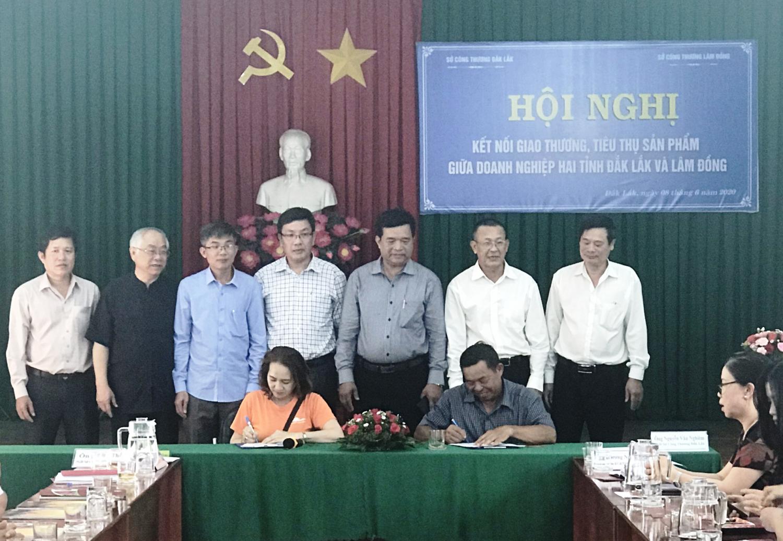 Đắk Lắk - Lâm Đồng kết nối giao thương, mở rộng thị trường tiêu thụ sản phẩm