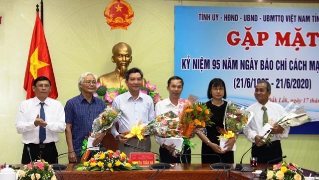 Đắk Lắk gặp mặt kỷ niệm 95 năm Ngày Báo chí Cách mạng Việt Nam (21/6/1925-21/6/2020)