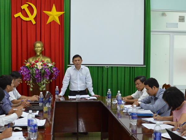 Phó Chủ tịch UBND tỉnh Nguyễn Tuấn Hà làm việc với Sở Thông tin và Truyền thông về tình hình ứng dụng công nghệ thông tin trên địa bàn tỉnh