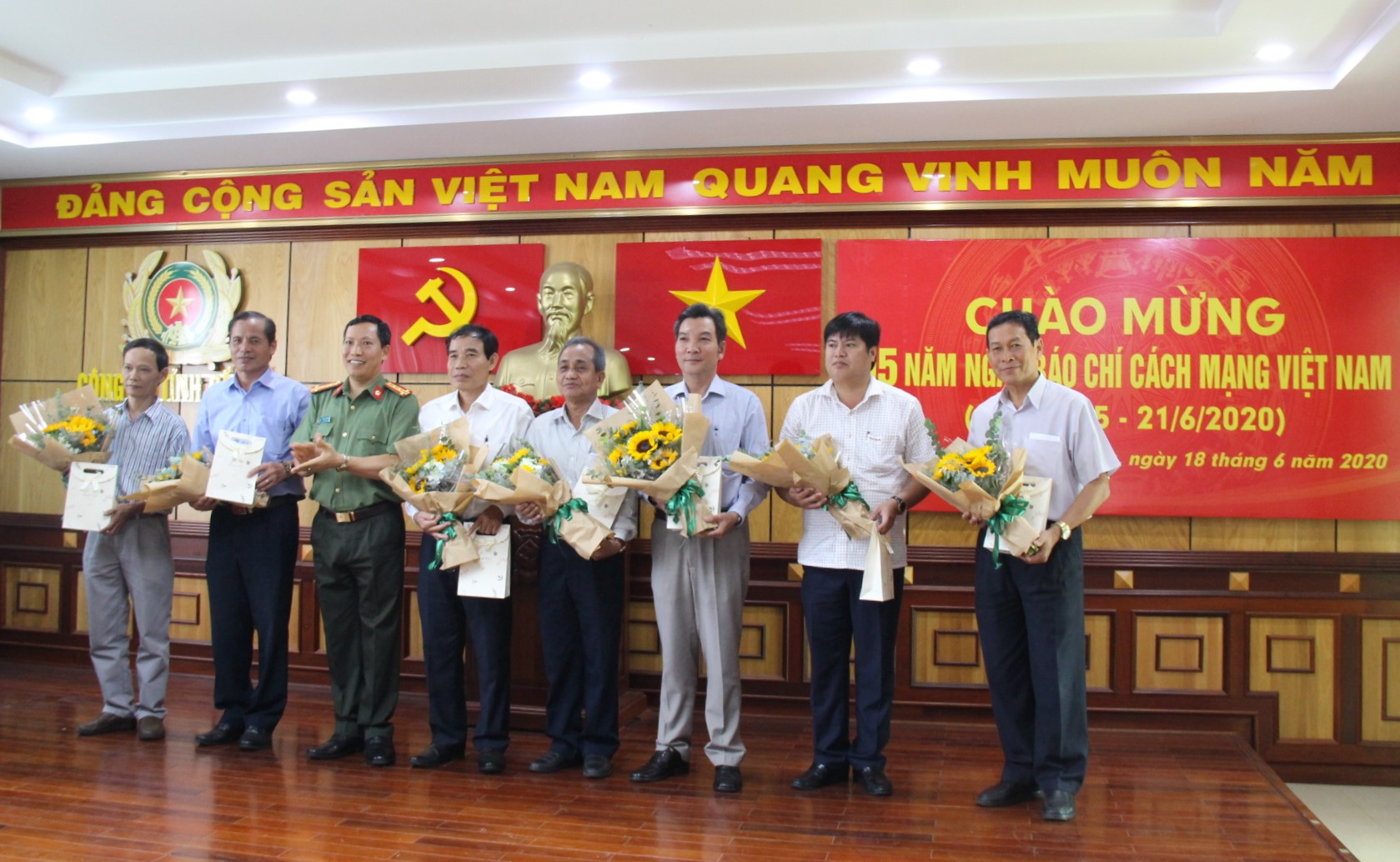 Công an tỉnh Đắk Lắk gặp mặt các cơ quan báo chí trên địa bàn nhân Kỷ niệm 95 năm Ngày Báo chí cách mạng Việt Nam