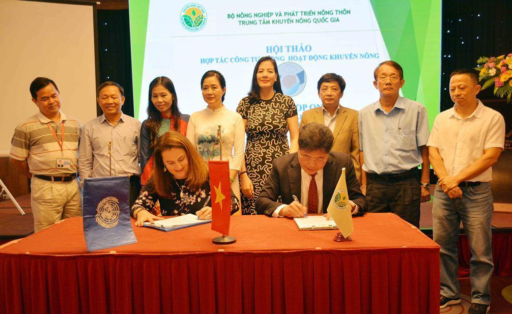 Hội thảo Quốc tế về hợp tác công tư (PPP) trong hoạt động khuyến nông