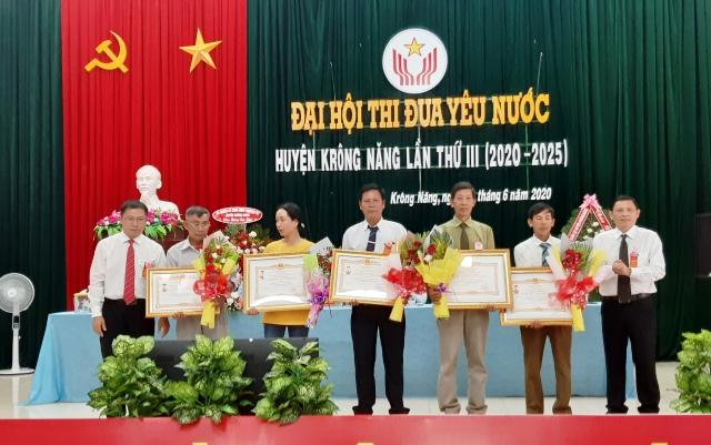 Đại hội thi đua yêu nước huyện Krông Năng lần thứ III (2020 - 2025)
