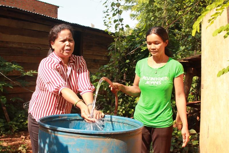 """Hơn 106 tỷ đồng thực hiện Chương trình """"Mở rộng quy mô vệ sinh và nước sạch nông thôn dựa trên kết quả"""" Đắk Lắk"""