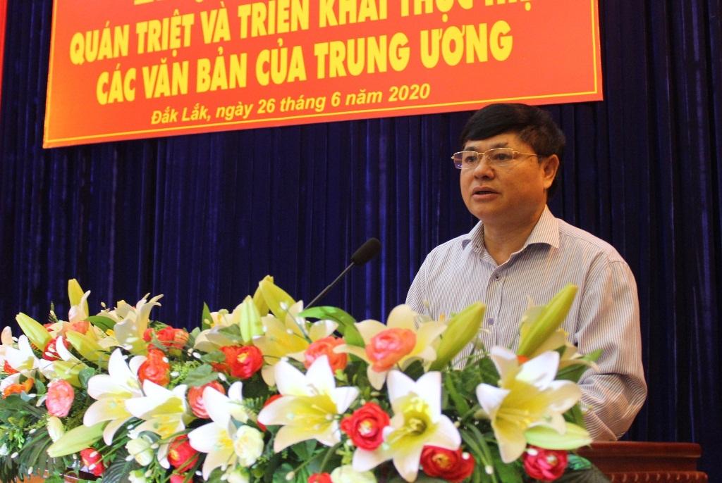 Hội nghị quán triệt, triển khai thực hiện các văn bản của Trung ương