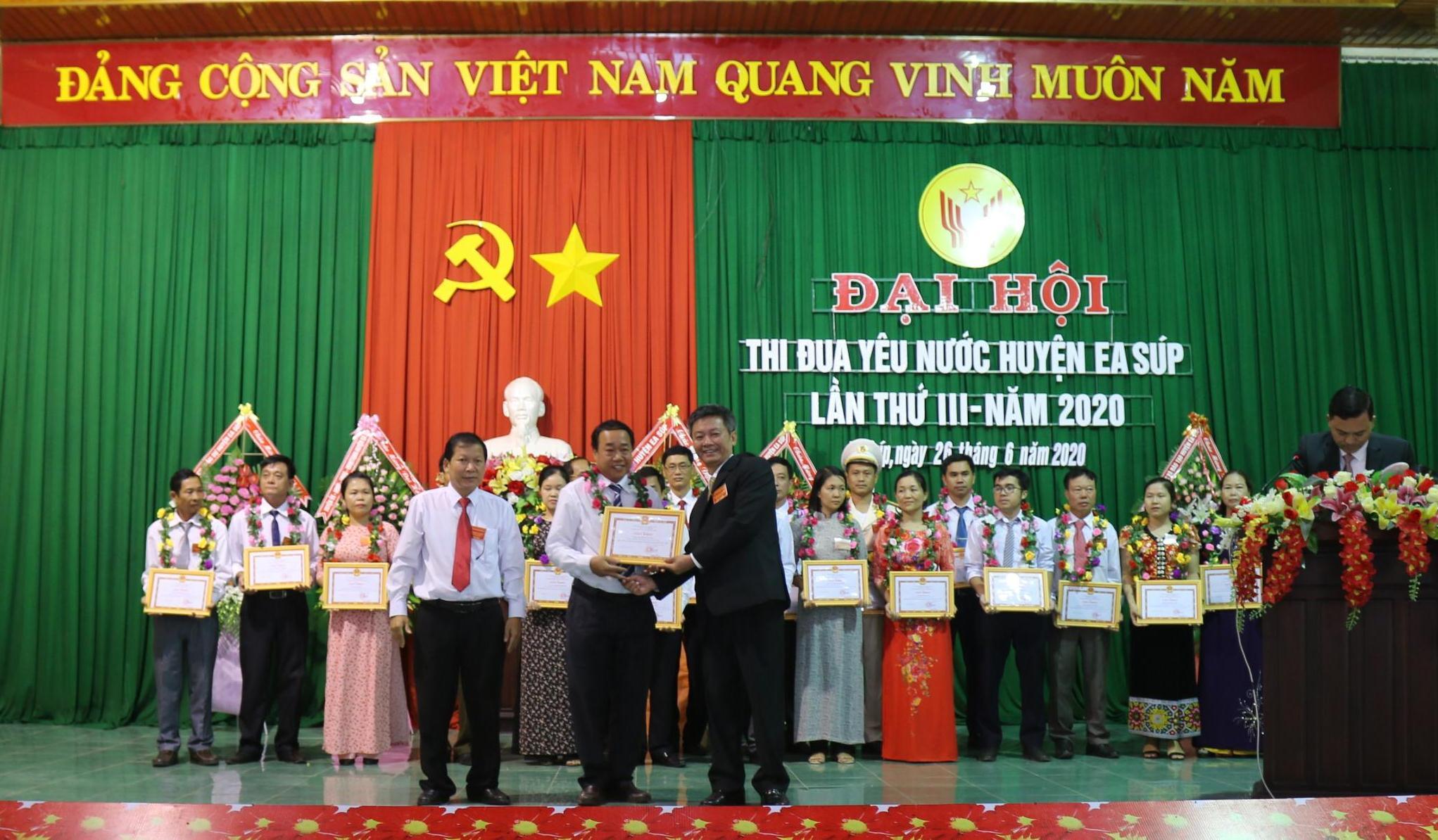 Đại hội Thi đua yêu nước huyện Ea Súp lần thứ III năm 2020