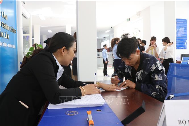 Công bố 286  thủ tục hành chính thực hiện tiếp nhận và trả kết quả tại Trung tâm Phục vụ hành chính công tỉnh Đắk Lắk - Đợt 4
