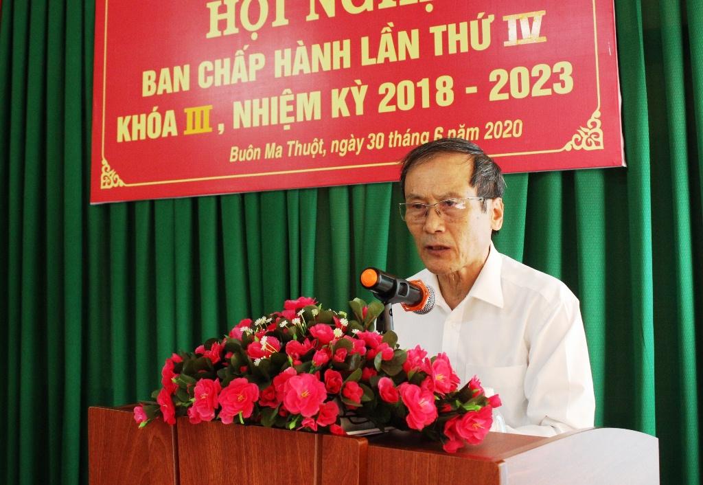 Hội Hữu nghị Việt Nam - Lào tỉnh Đắk Lắk triển khai nhiệm vụ công tác hội 6 tháng cuối năm 2020