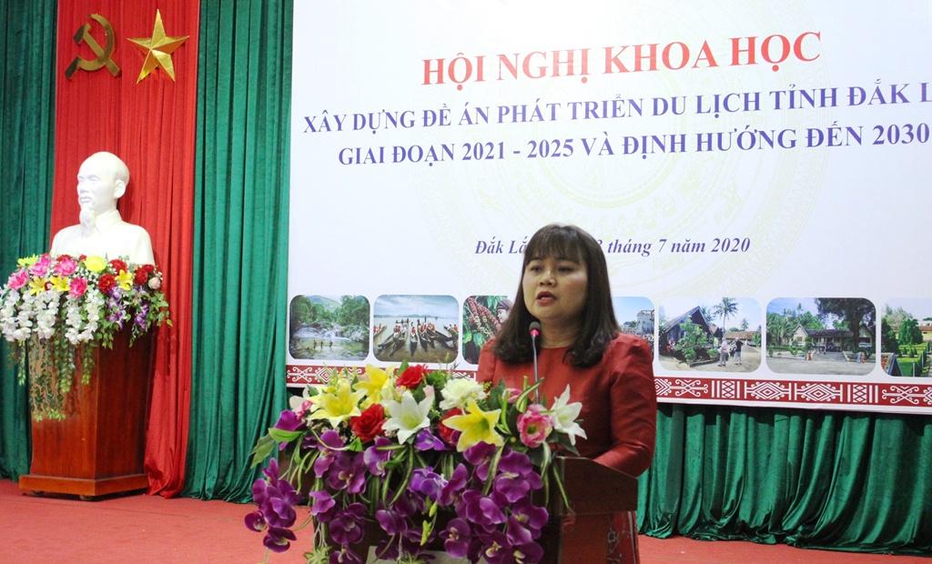 Hội nghị khoa học xây dựng Đề án phát triển du lịch tỉnh Đắk Lắk giai đoạn 2021-2025 và định hướng đến năm 2030