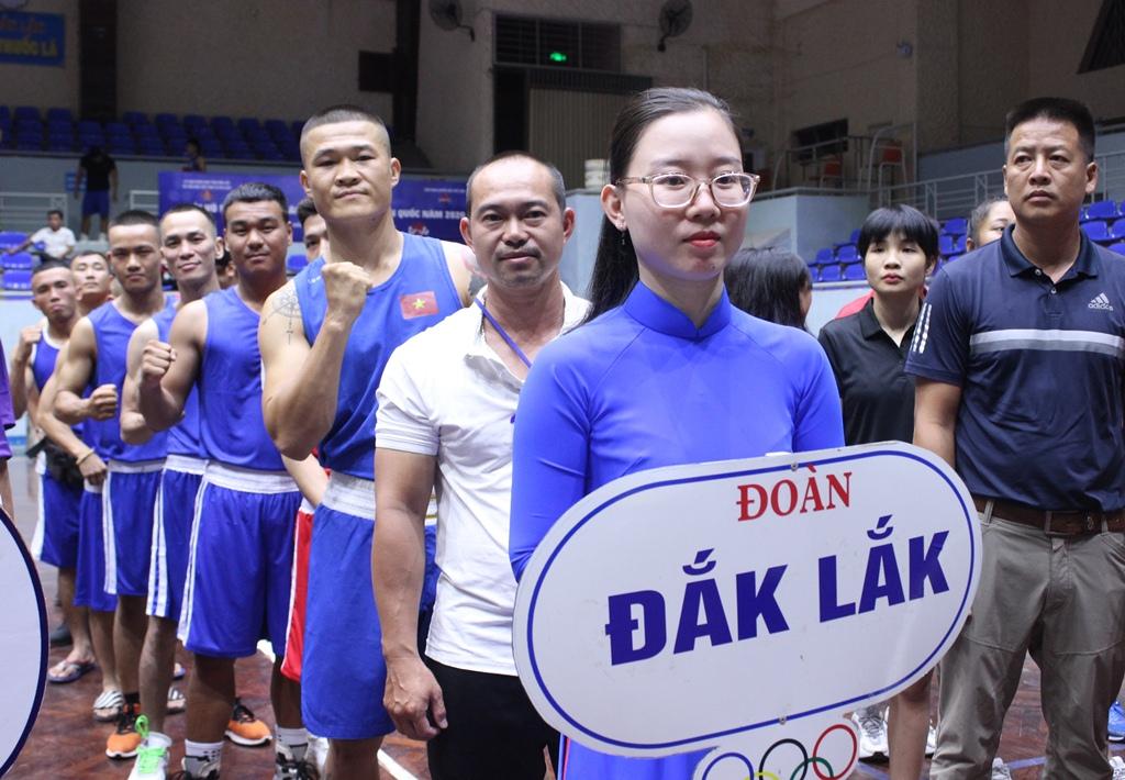 Khai mạc Giải vô địch Cúp các Câu lạc bộ boxing toàn quốc năm 2020