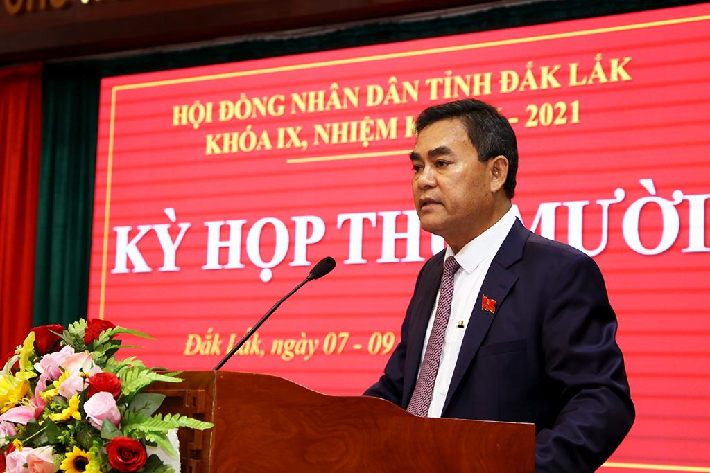 Khai mạc Kỳ họp thứ Mười, HĐND tỉnh khóa IX, nhiệm kỳ 2016-2021