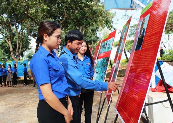 Krông Búk quảng bá hình ảnh của địa phương để kêu gọi đầu tư phát triển du lịch.