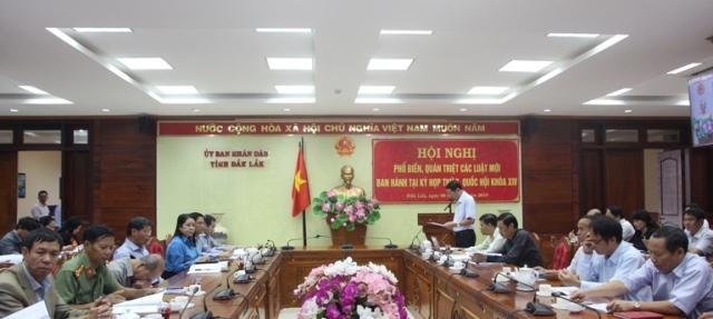 Phối hợp tổ chức Hội nghị phổ biến văn bản quy phạm pháp luật, nghiệp vụ pháp chế và giám định tư pháp vào tháng 8/2020 tại tỉnh Đắk Lắk