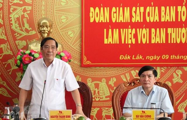 Đắk Lắk sẽ tổ chức Hội thảo xin ý kiến Trung ương góp ý dự thảo Báo cáo chính trị Đại hội Đảng bộ tỉnh lần thứ XVII