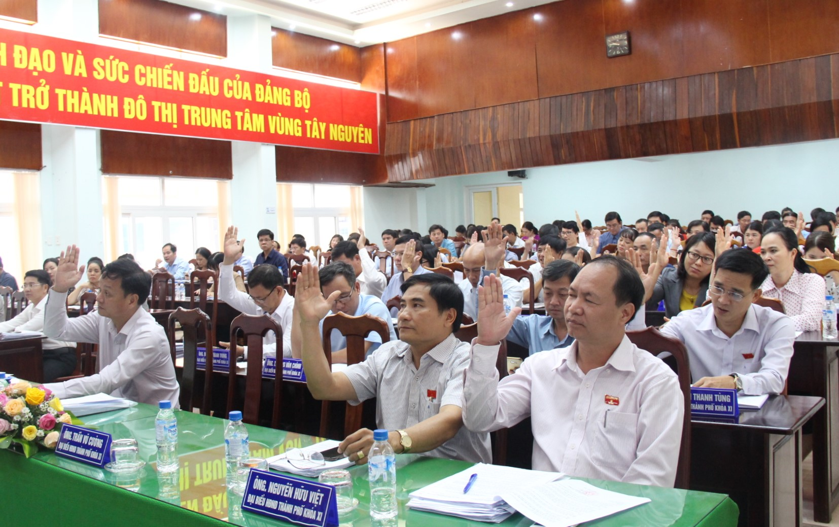 Closing the 10th Session of Buon Ma Thuot city People's Council