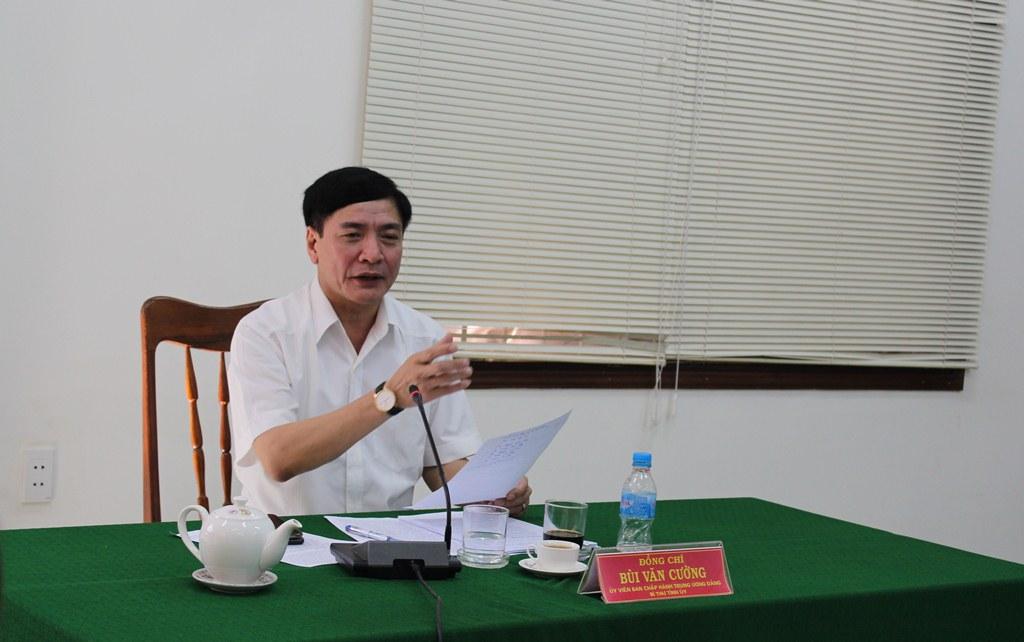 Bí thư Tỉnh ủy Bùi Văn Cường tiếp công dân định kỳ tháng 7/2020