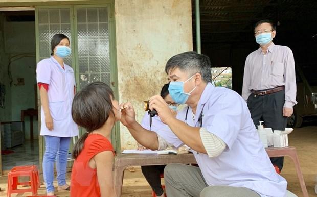 Hỗ trợ người dân vùng có dịch bệnh bạch hầu