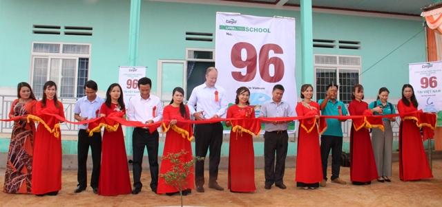 Khánh thành và bàn giao Trường mẫu giáo Hoa Thủy Tiên tại xã Đliêya, huyện Krông Năng