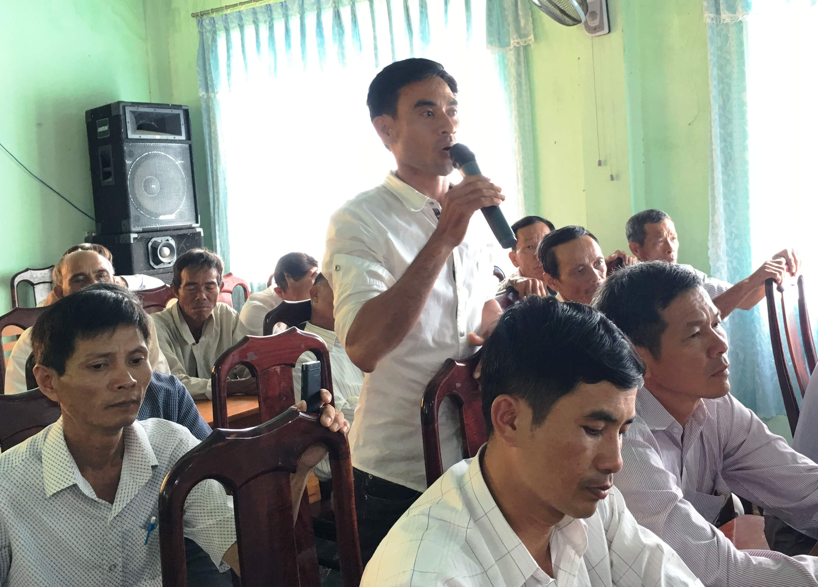 Tiếp xúc cử tri sau Kỳ họp thứ 10 HĐND tỉnh Đắk Lắk khóa IX, nhiệm kỳ 2016-2021 tại huyện M'Đrắk