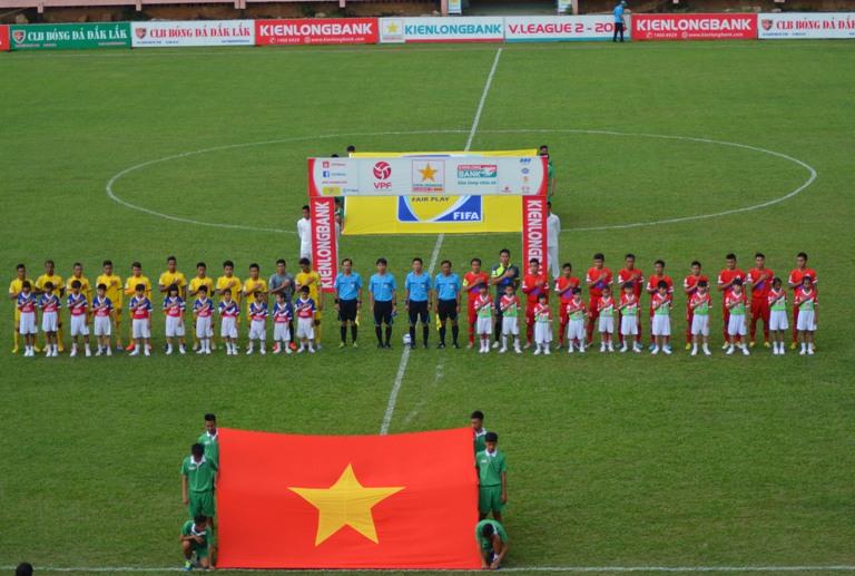 Vòng 6 Giải Bóng đá Hạng Nhất quốc gia 2016:  CLB Đắk Lắk thua ứng cử viên vô địch Thành phố Hồ Chí Minh trên sân nhà.