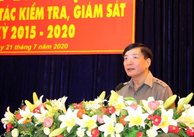 Tổng kết công tác kiểm tra, giám sát và thi hành kỷ luật trong Đảng nhiệm kỳ 2015-2020