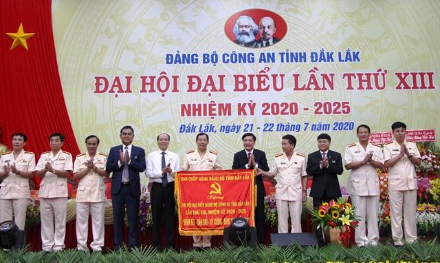 Đại hội đại biểu Đảng bộ Công an tỉnh lần thứ XIII, nhiệm kỳ 2020-2025