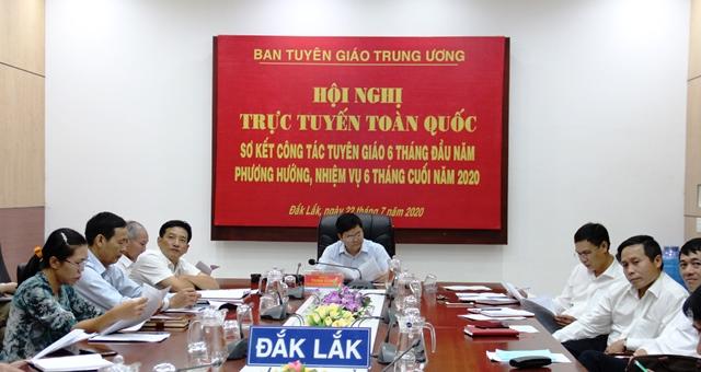 Ban Tuyên giáo Trung ương triển khai nhiệm vụ 06 tháng cuối năm 2020