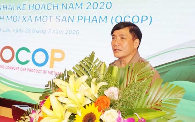 Dak Lak's conference on implementing OCOP to localities