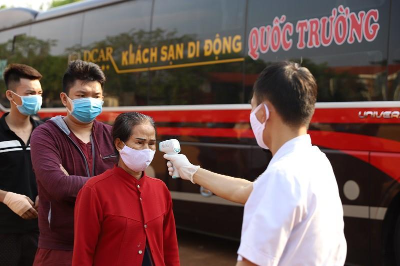 Tăng cường các biện pháp phòng chống dịch COVID-19 trên các phương tiện vận tải hành khách