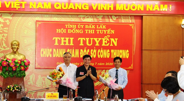 Luu Van Khoi wins the position of Director of Dak Lak Department of Industry and Trade