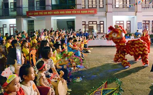 Tổ chức các hoạt động vui Tết Trung thu và Đêm hội trăng rằm cho trẻ em năm 2020