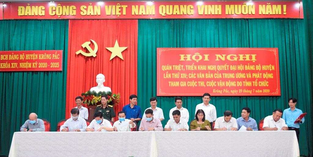 Hội nghị quán triệt triển khai Nghị quyết Đại hội đại biểu Đảng bộ huyện Krông Pắc lần thứ XIV, nhiệm kỳ 2020-2025