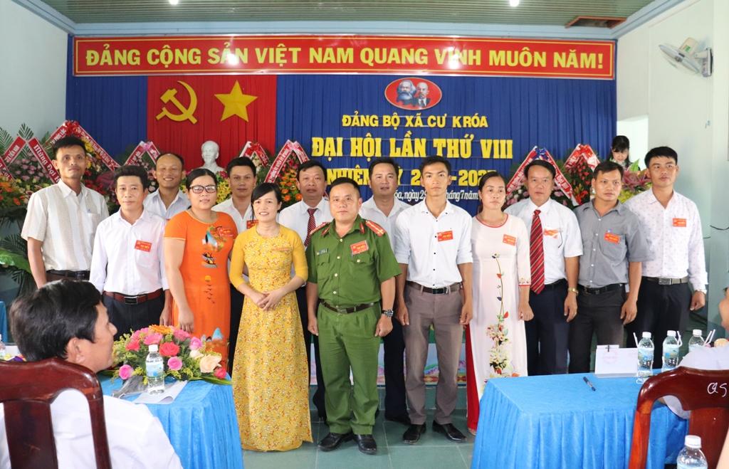 Đại hội Đảng bộ xã Cư Króa lần thứ VII, nhiệm kỳ 2020 - 2025