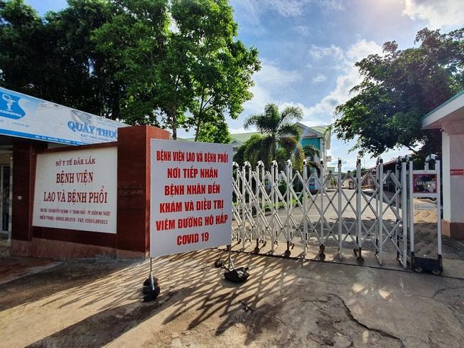 Thiết lập 5 khu vực cách ly, điều trị Covid-19 tại Bệnh viện Lao và Bệnh phổi tỉnh Đắk Lắk